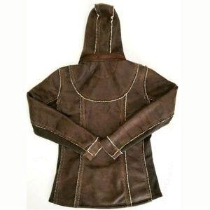 Kuhl Jackets & Coats - Kuhl Womens Jacket Zip Up Dani Sherpa Lined Hooded